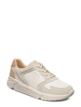 Cocoville Sneaker Lage Sneakers Crème GANT