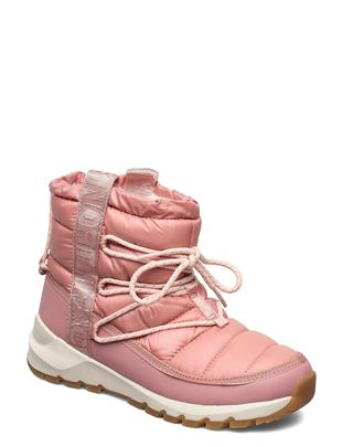 W Thermoball Lace 3 Shoes Boots Ankle Boots Ankle Boot - Flat Roze THE NORTH FACE