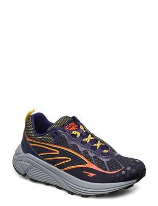 Ht Rgs Fizo Navy/Red Orange/Yellow Lage Sneakers Blauw HI-TEC