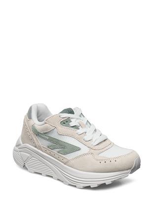 Ht Shadow Rgs Core White/Sage Green Lage Sneakers Grijs HI-TEC