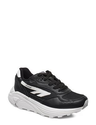 Ht Shadow Rgs Suede Black/White Lage Sneakers Zwart HI-TEC