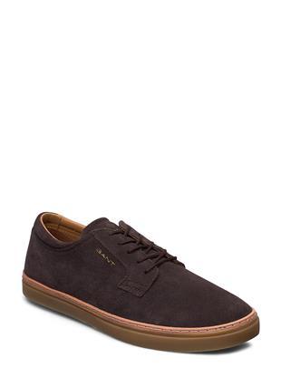 Prepville Cupsole Low Lage Sneakers Bruin GANT