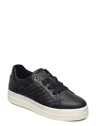 Avona Low Lace Shoes Lage Sneakers Zwart GANT