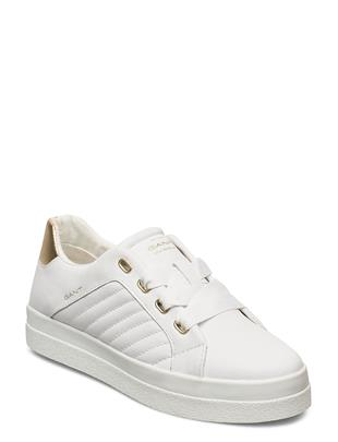 Avona Low Lace Shoes Lage Sneakers Wit GANT