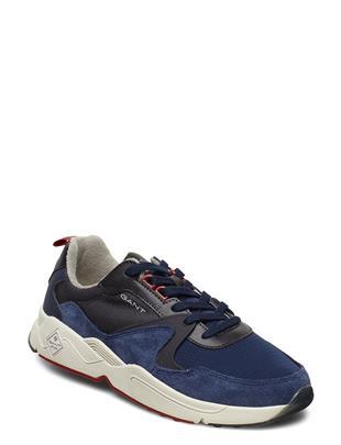 Nicewill Running Low Lage Sneakers Blauw GANT