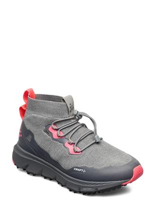 Nordic Fuseknit Hydro Mid W Shoes Sport Shoes Running Shoes Grijs CRAFT