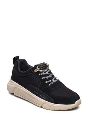 Cocoville Low Lace Shoes Lage Sneakers Zwart GANT