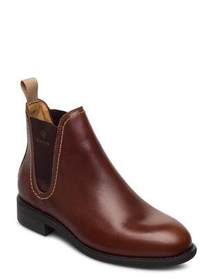 Ainsley Chelsea Shoes Chelsea Boots Bruin GANT