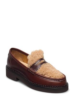 Woodla Low Lace Shoes Loafers Lage Schoenen Bruin GANT
