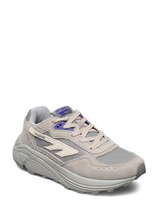 Ht Hts Shadow Rgs Grey-Pur Lage Sneakers Grijs HI-TEC