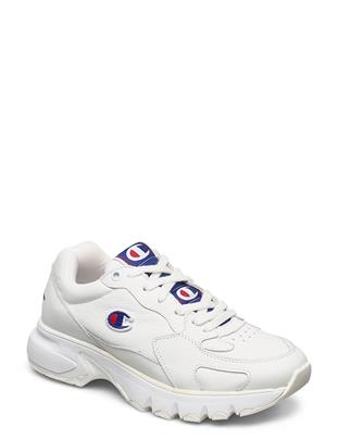 Low Cut Shoe Cwa-1 Leather Lage Sneakers Wit CHAMPION