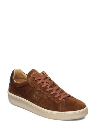 Leville Cupsole Low Lage Sneakers Bruin GANT