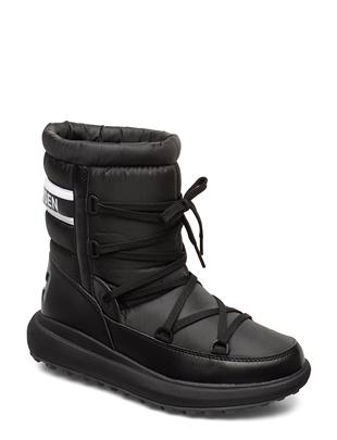 W Isolabella Court Shoes Boots Ankle Boots Ankle Boot - Flat Zwart HELLY HANSEN