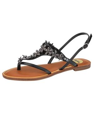 Sandaaltje Buffalo Zwart