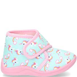 Hengst Pantoffel Meisjes Blauw/Multi/Roze