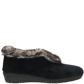 Shoetime Pantoffel Dames Zwart
