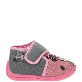 Minnie Mouse Pantoffel  Grijs/Roze/Multi