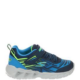 Skechers S-Lights Klittenbandschoen  Blauw