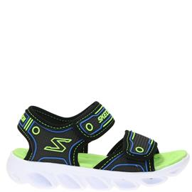 Skechers S-Lights Sandaal  Zwart/Groen/Blauw/Multi