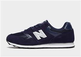 New Balance 393 Heren - Navy/White - Heren