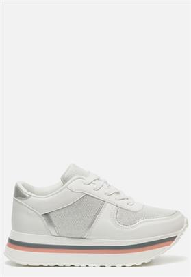Shoecolate Sneakers wit