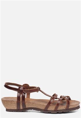 Panama Jack Dori Clay B1 sandalen cognac