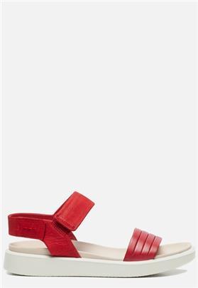 Ecco Flowt sandalen rood