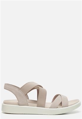 Ecco Flowt W sandalen grijs