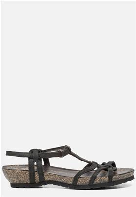 Panama Jack Dori Basics B1 sandalen zwart