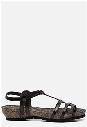 Panama Jack Dori Clay B3 sandalen zwart