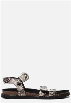 Ann Rocks Sandalen slangenprint