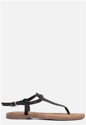 Lazamani Sandalen zwart