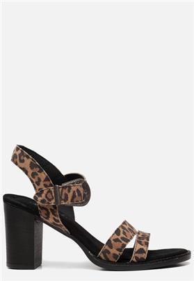Ann Rocks sandalen luipaard