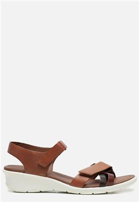 Ecco Felicia sandalen bruin