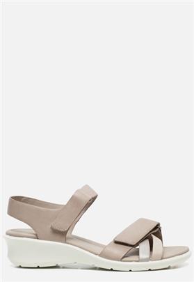 Ecco Felicia sandalen grijs