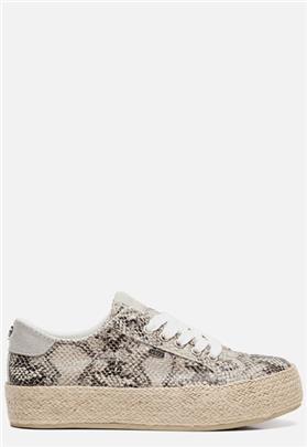 Mexx Chevelijn sneakers slangenprint