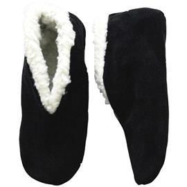 Zwarte Spaanse sloffen/pantoffels voor dames/heren - Super voordelig/laagste prijs