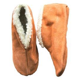 Beige Spaanse sloffen/pantoffels voor dames/heren