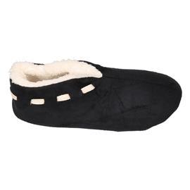 Dames Spaanse sloffen/pantoffels zwart 39-40