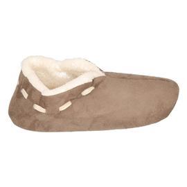 Dames Spaanse sloffen/pantoffels bruin 41-42