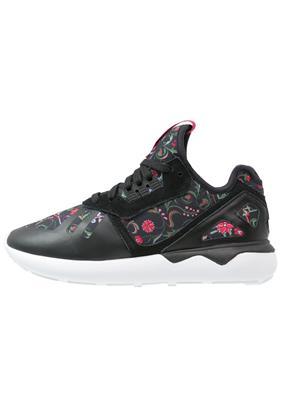 adidas Originals TUBULAR RUNNER Sneakers laag core black/vivid berry