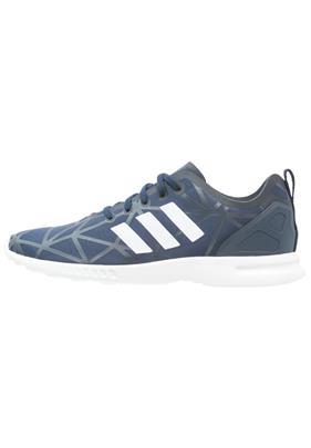adidas Originals ZX FLUX SMOOTH Sneakers laag night indigo/core white