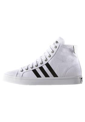 adidas Originals COURT VANTAGE Sneakers hoog white/core black/metallic silver solid