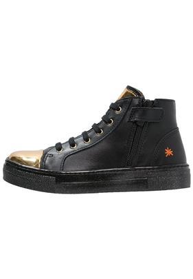 Art STAR Sneakers hoog black