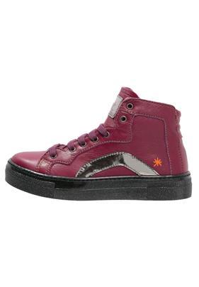 Art STAR Sneakers hoog cerise