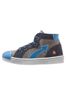 Art STAR Sneakers hoog grafito/cobalto