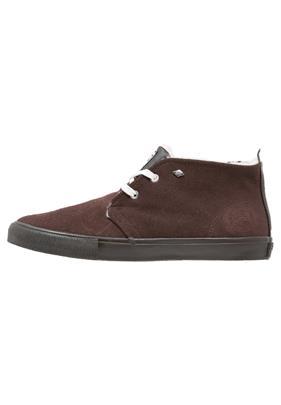 British Knights DEVON Sneakers hoog dark brown