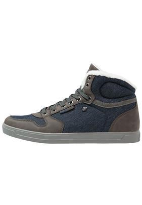 British Knights RANGER Sneakers hoog cognac/dark brown/offwhite