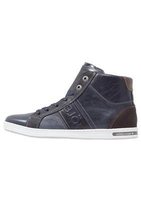 Björn Borg GEOFF Sneakers hoog navy/dark brown