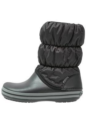 Crocs PUFF Laarzen black/charcoal